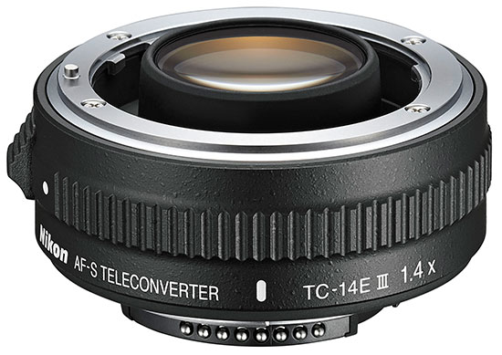 Nikon AF-S TC-14E III teleconverter (new version)