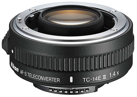 Nikon AF-S TC-14E III teleconverter (new version)