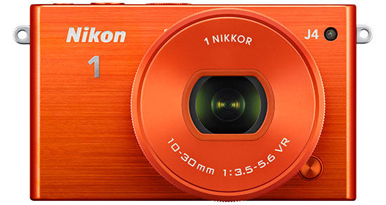 Nikon-1-J4-mirrorless-camera-orange