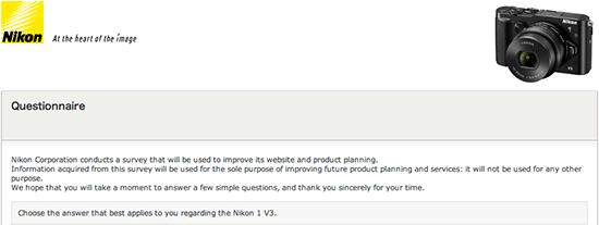 Nikon-1-V3-mirrorless-camera-questionnaire