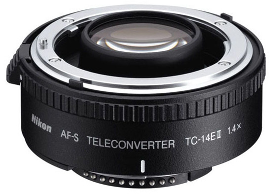 Nikon AF-S TC-14E II teleconverter (old version)