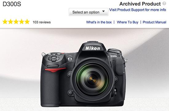 Nikon-D300s-camera-discontinued
