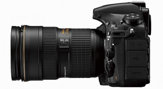 Nikon-D810-DSLR-side-view