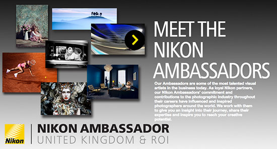 Nikon-UK-ambassadors