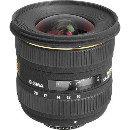 Sigma 10-20mm f:4-5.6 EX DC HSM lens