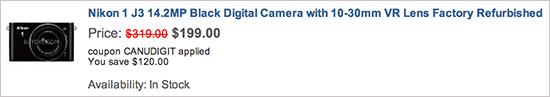 Nikon-1-J3-camera-on-sale