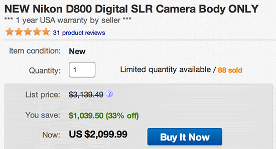 Nikon-D800-sale-on-eBay