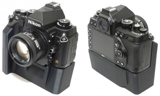3D-printed-Nikon-Df-camera-grip