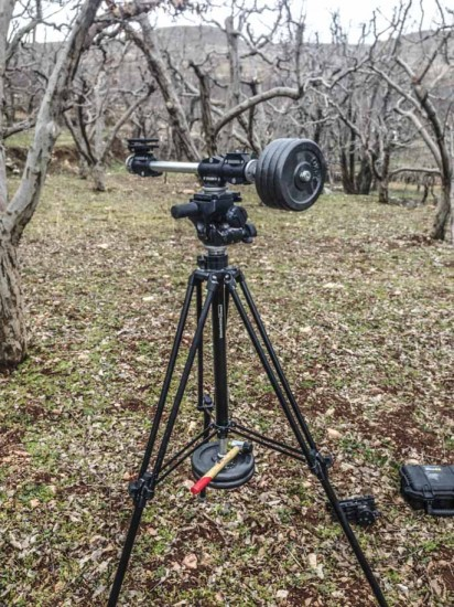 Creating spinning circular timelapse with Nikon DSLR camera 1