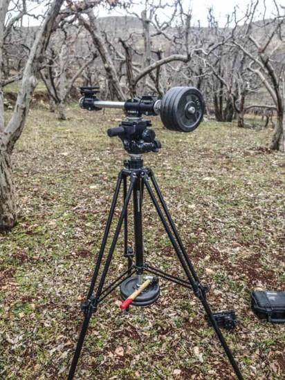 Creating spinning circular timelapse with Nikon DSLR camera 1