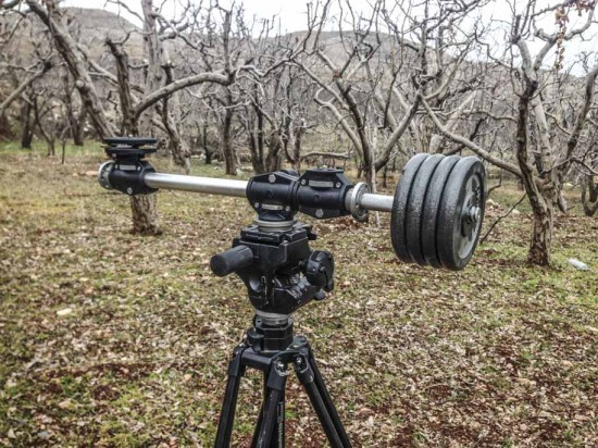 Creating spinning circular timelapse with Nikon DSLR camera 2