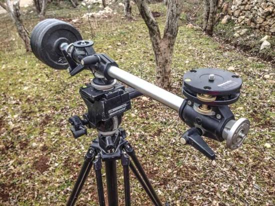 Creating spinning circular timelapse with Nikon DSLR camera 3