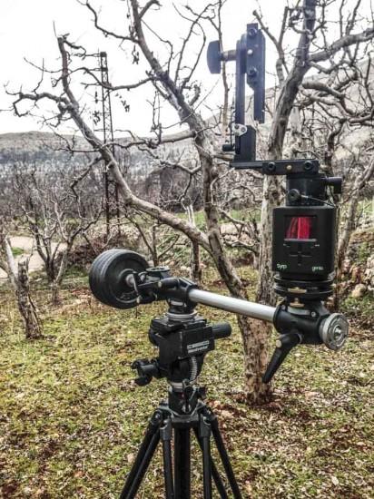 Creating spinning circular timelapse with Nikon DSLR camera 4
