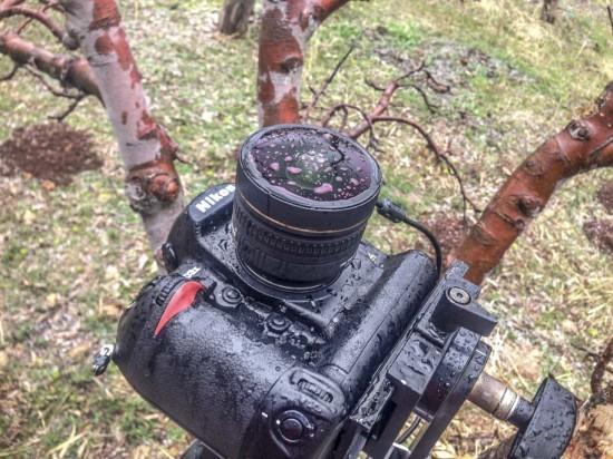 Creating spinning circular timelapse with Nikon DSLR camera
