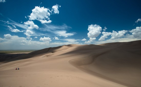 Mosca (Colorado), USA : Great Sand Dunes National Park