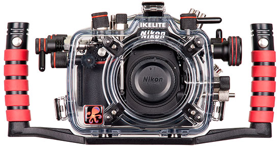 Ikelite-underwater-housing-for-Nikon-D810-DSLR-camera