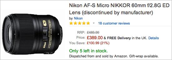 Nikkor-AF-S-Micro-60mm-f2.8G-ED-lens-discontinued
