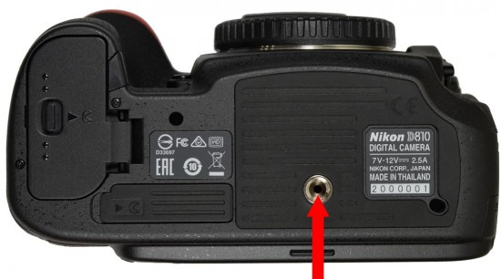 Nikon D810 camera service advisory for thermal issue white dots