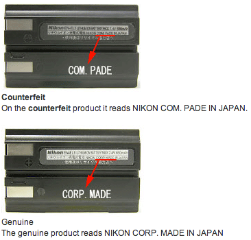 Nikon-counterfeit-batteries