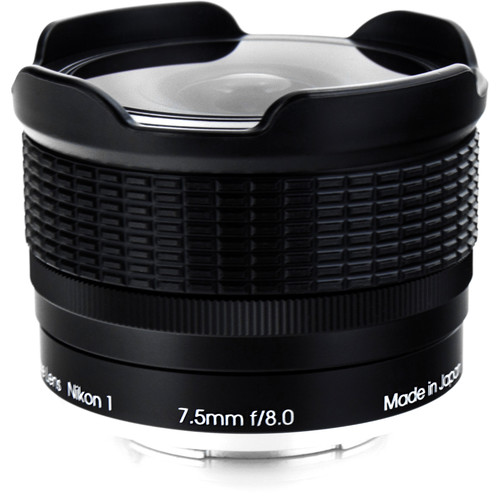 Rokinon 7.5mm f:8.0 RMC fisheye lens for Nikon 1 cameras