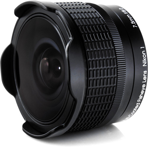 Rokinon 7.5mm f:8.0 RMC fisheye lens for Nikon 1
