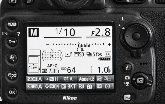 d810 displaynr
