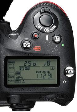 Nikon-D610-top-LCD-screen