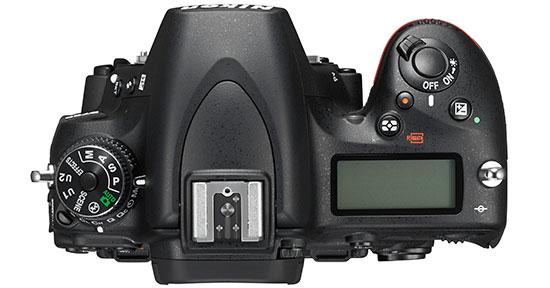 Nikon-D750-DSLR-camera-top
