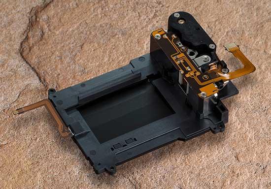 Nikon D750 shutter unit