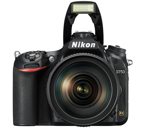 Nikon-D750-camera-built-in-flash