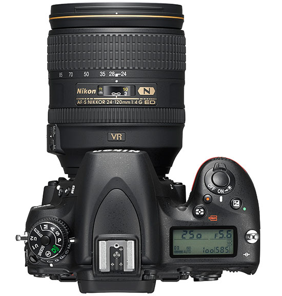 support for the Nikon D750 camera and the following F-mount lenses