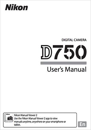 Nikon-D750-user-manual
