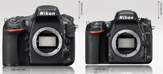 Nikon-D810-vs-D750-size-comparison