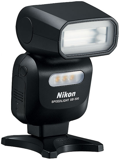 nikon speedlight sb 500 flash announced nikon rumors