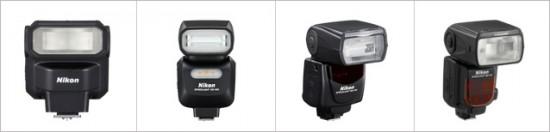 Nikon-Speedlight-flash-comparison
