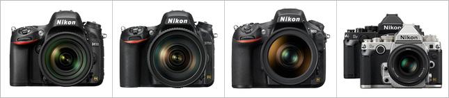 Nikon-full-frame-cameras-comparison