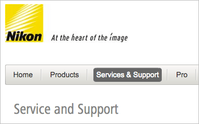 Nikon-service-and-support