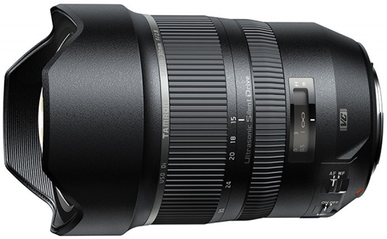 Tamron SP 15-30mm f/2.8 DI VC USD lens price announced, available for pre-order