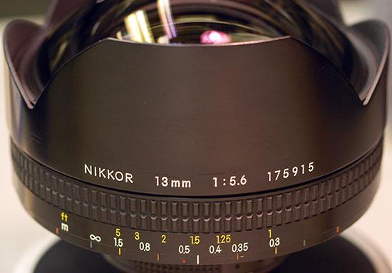 Nikon-13mm-f5.6-lens