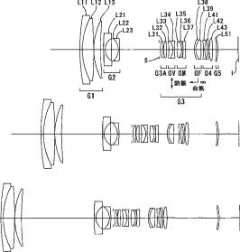 Nikon 9-135mm f:3.5-5.6 VR lens patent