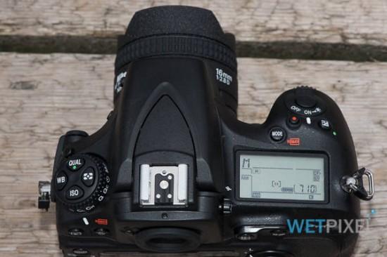Nikon D810 camera underwater review