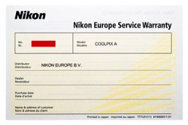 Nikon Europe Warranty