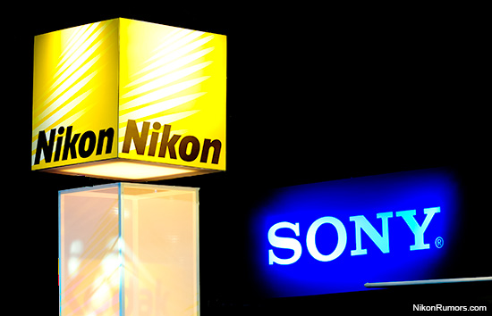 Nikon-Sony-logo