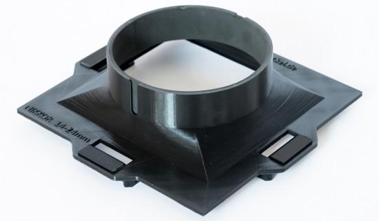 3D printed filter holder for the Nikon 14-24mm f/2.8 lens