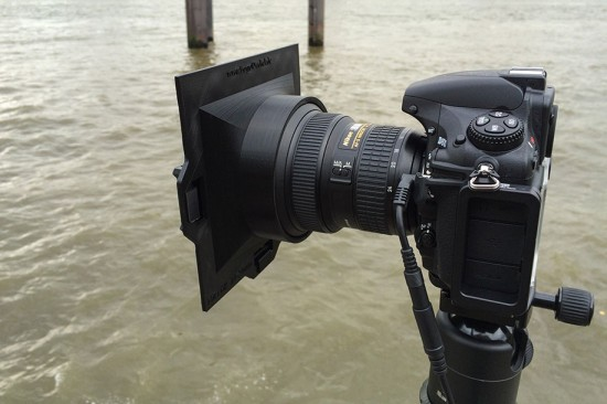 3D printed filter holder for the Nikon 14-24mm f/2.8 lens