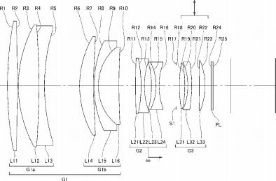 Nikon 200mm f:2 FL ED VR lens patent