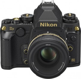 Nikon Df Gold Edition camera announced in Japan