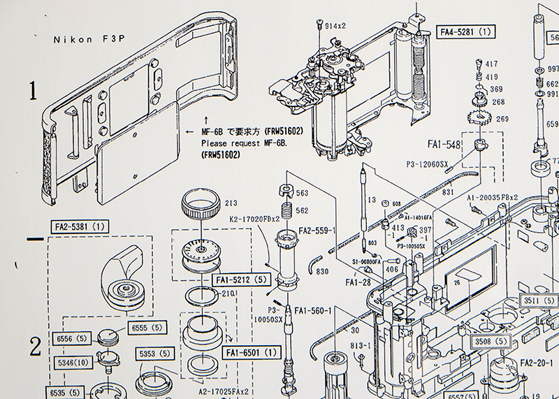Nikon F3 P Parts Diagram 1 nikon f3 p camera parts diagram nikon rumors
