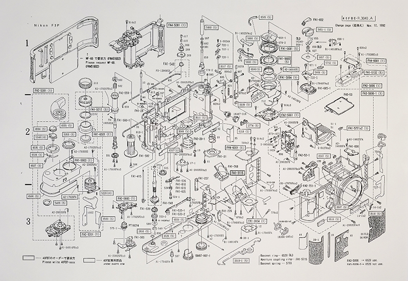 Nikon F3 P Parts Diagram 3 nikon f3 p camera parts diagram nikon rumors