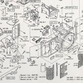 Nikon F3-P Parts Diagram 4